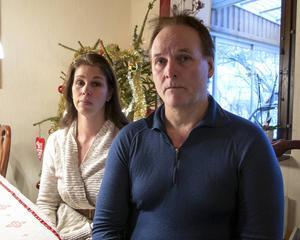 Åsa Lusth och Janne Häggman i Haga möttes av vidöppna dörrar när de kom hem från jobbet på nyårsaftonen. Deras bostad hade genomsökts av tjuvar.