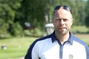 Tobias Grundin, klubbchef på Söderhamns GK.
