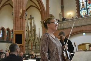 Charlotte Fregelin spelade Johan Svendsens ljuva violinromans.