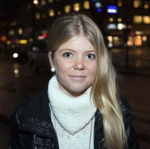 Felicia Wallström, 13 år, student, Gävle:– Sluta småäta.