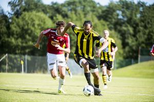Återvändaren Ahmad Khreis, som tidigare spelat i Timrå, genomförde under lördagen matchen i Kubikensborgs färger.