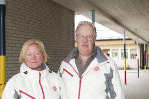 Ulrika Falk och Olle Jansson (S).