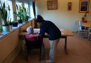 Privata aktörer inom äldreomsorgen är betydligt billigare än den kommunala i Östersund. Det är något som kommunens revisorer ställer sig frågande till.Foto: HENRIK MONTGOMERY/Scanpix