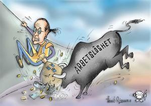 Hassibs galleri: Ingen snäll tjur.
