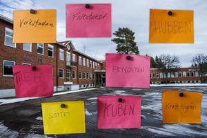 Här är namnförslagen som tagits fram till den nya kulturhubben på Slottegymnasiet.
