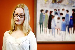 Alma Hansen ska spendera nästa skolår på high school i USA. Men hon har ändå valt en gymnasieinriktning för säkerhets skull.