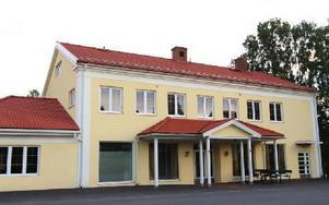 Gagns Inn-huset köptes av Gagnefbostäder AB tidigare i somras. Nu vill kommunen göra om det till ett hem för ensamkommande flyktingbarn. Foto: Lisa Persson
