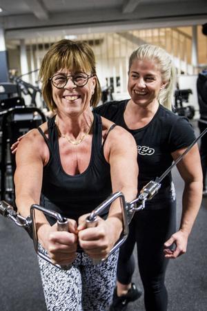 Träningen har blivit en naturlig och viktig del av Maud Lundqvist liv.  Petra Åslund jobbar som personlig tränare och hon har stöttat Maud under hennes resa.