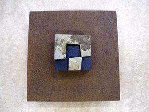 Ett av nio verk som ingår i den version av Koyamas Sabi som visas i Rättvik.
