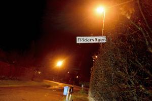 Flädervägen i Stöde är en av gatorna som drabbats av inbrott.