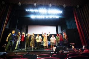 Nästa tisdag har Fjällhumlorna premiär för sin föreställning