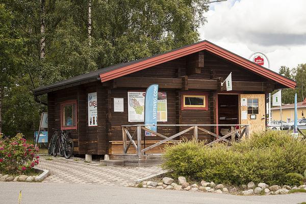 Stugan vid träbjörnen - Det bästa läget för turistinformation i Sveg.