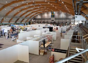 Årets vårmässa kan inte hållas i Nordichallen.
