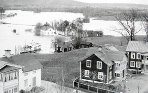 Ångaren Najads nya kajplats i Gustafs