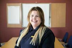 Marie Larsson, klienthandläggare på anstalten i Ljustadalen.
