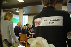 TILLSAMMANS. Ungdomsnätverket består av tolv personer. Det är ungdomar, samt representanter från kommunen, polisen och företag.
