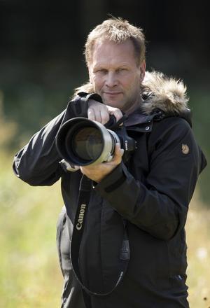 Fågelfotografen Brutus Östling.