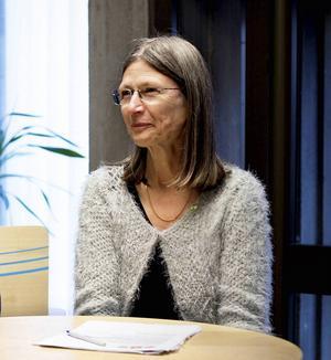 Eva Andersson, Miljöpartiets gruppledare.
