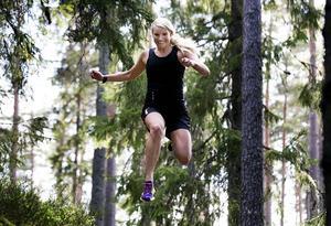 Tävlingsledaren Emma Graaf räknar med att själv delta i Notgårdsloppet och hon hoppas ha sällskap av minst hundra triathleter.