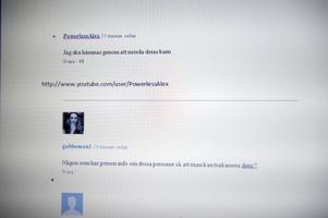 I kommentatorsfält på både youtube och dt.se har flera grova hot delats ut.