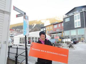 Bri Stundon, uppvuxen i Kanada har, har rotat sig i Åre och arbetar nu med Åre Gastronomy Week.