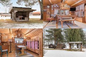 På Bonäs sjöväg 166 finns detta vinterbonade fritidshus i sjöläge vid Storkittsviken i Orsasjön. Utgångspriset är 1,8 miljoner kronor.
