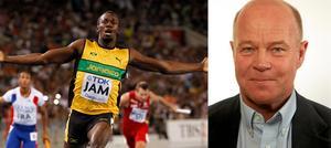 Usain Bolt och Lennart Axelsson.
