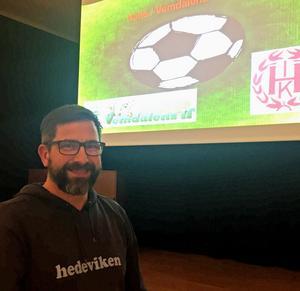 Jonas Myhr är mycket nöjd över att Vemdalens IF och Hede IK kommer att starta ett U-lag tillsammans i herrsexan nästa säsong. Laget kommer att spela i Vemdalen men drivas av klubbarna tillsammans.