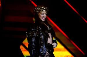 Rihanna avslutade Peace and Love-festivalen 2012.