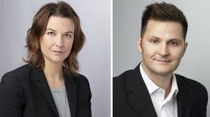 Helene Arango Magnusson är utredningsordförande och Alexander Hurtig är utredningsledare för haveriutredningen.