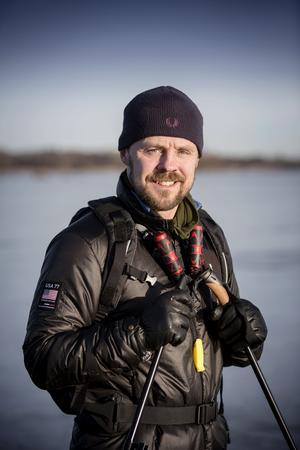 Daniel Kellén upptäckte långfärdsskridskor för tre år sedan.