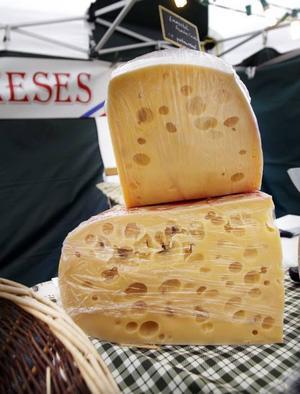 Mild eller stark ost?