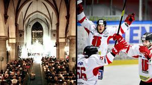 Svenska kyrkan går nu in och stöttar Örebro Hockey med 100 000 kronor till elitseriesäsongen.