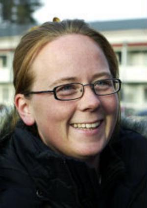 Zarah Eriksson, 32, vårdare, Matfors.– Jag ser på Desperate housewives och CSI.