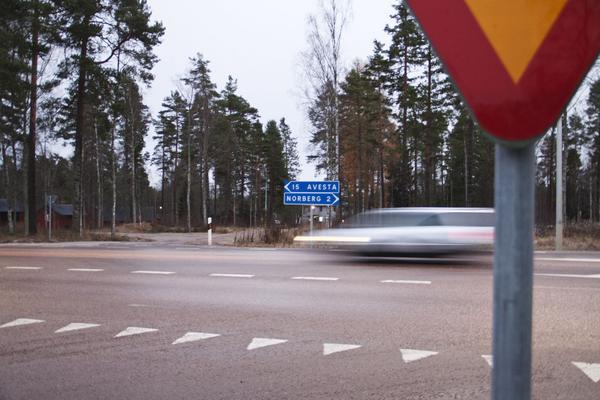 I Norbergs  kommun ökar bilåkandet nästan mest i hela landet.