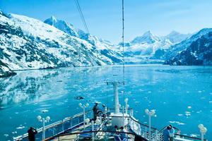 Fartyget ska avgå från Alaska.