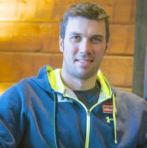 Mario Matt, med ett OS-guld och tre VM-guld, tränar i Funäsdalen inför världscupen.