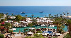 Ett av många lyxhotell vid Sharm el Sheikh.