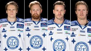 William Wikman (överkropp), Mattias Ritola (sjuk), Jesper Ollas (överkropp) och Mattias Nilsson (överkropp) är på skadelistan.