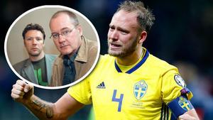 Granqvist erbjuds en roll i Beck efter bragdmatchen.Foto: TT (Montage).