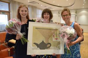 Pristagare. 2014 gick pedagogiska priset till Lilla gruppens arbetslag på Vialundskolan.