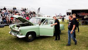 Bilarna bedömdes under Summer Meets andra och tredje dag.