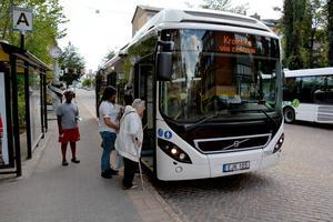 En översyn av bussnavet i Örnparken ligger också i planen.