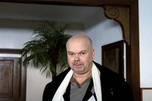 Joe Formgren är en av delägarna i Medietemplet som nu flyttar in i det gamla tempelriddarhuset.