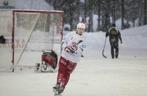 Olov Englund svarade för 17 poäng förra säsongen, det var han fyra på i den interna ligan.