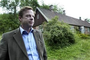 Krister Henriksson i rollen som Kurt Wallander. Henning Mankells buttre poliskaraktär har skapat intresse för Skånes natur.   Foto: Daniel Fresia-Cox / Malmöbild / TT