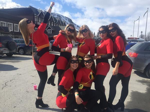 Ett gäng superkvinnor från Östersund.