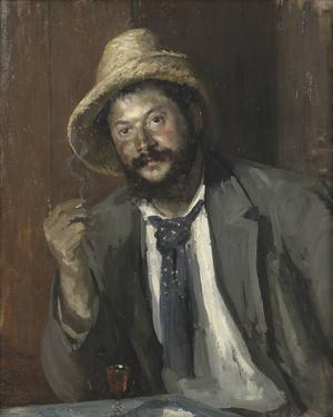 Louise Caterine Breslaus porträtt av Ernst Josephson placeras under rubriken