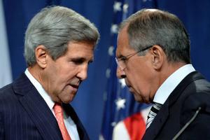 USA:s och Rysslands utrikesministrar, John Kerry och Sergej Lavrov, har närmat sig varandra.