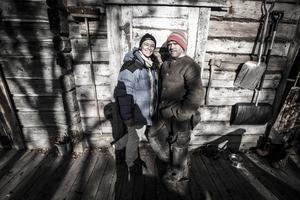 Claire och Richard Reese driver företaget Wild Spirit Bushcraft i Huså.